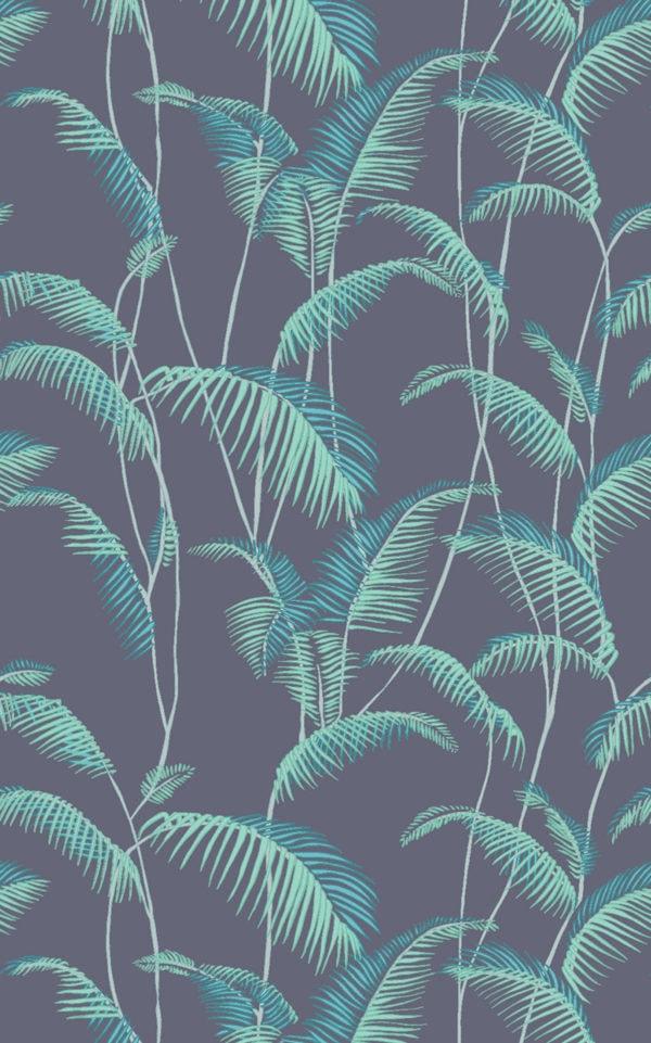 Majorelle Teal Wallpaper