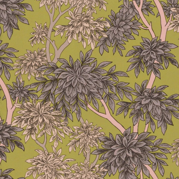 Panache Lime Wallpaper