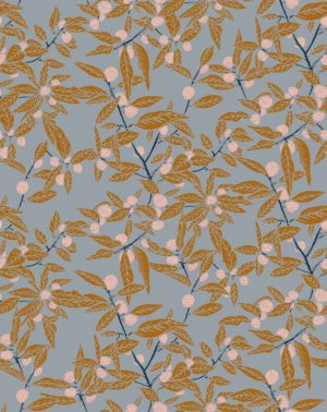 Clementine Tangerine Wallpaper