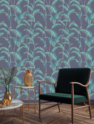 Majorelle Teal Wallpaper