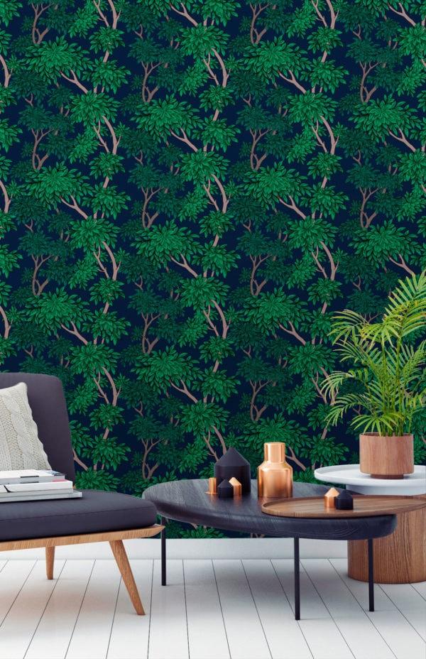 Panache Charcoal Wallpaper