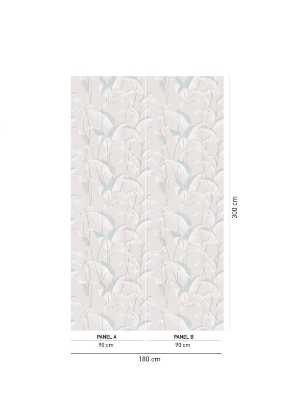 Majorelle Moon Rock Wallpaper