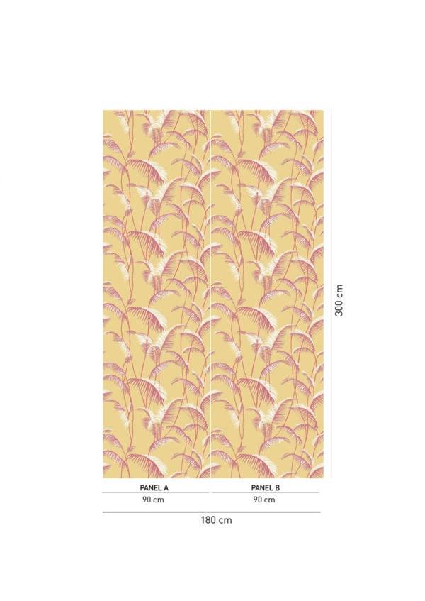 Majorelle Sauterne Wallpaper