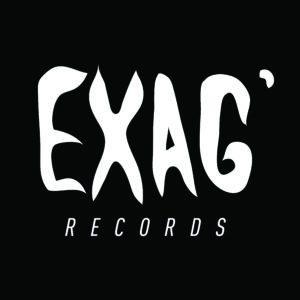 Exag record logo