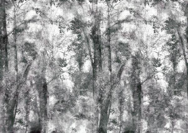 Mist Concrete Wallpaper