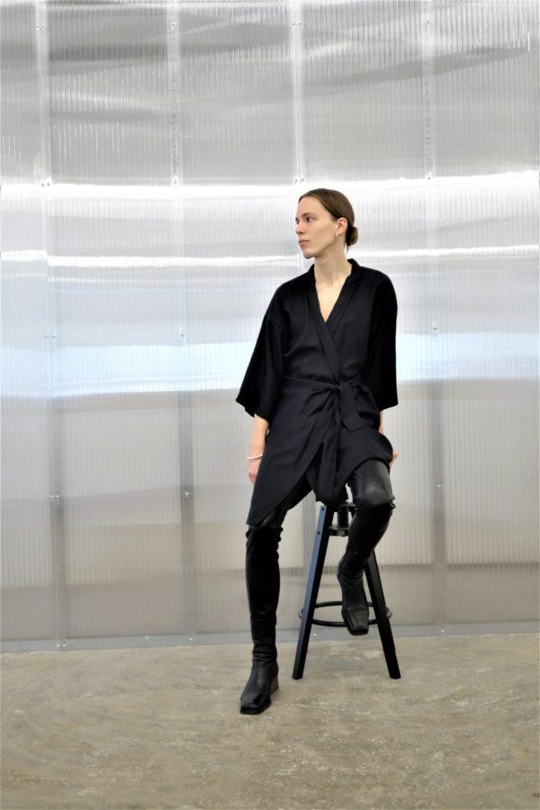 0001 Dress Kimo Bamboo Silk - T