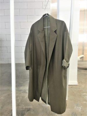 0010 Coat Pockets - Cotton mix-khaki-1