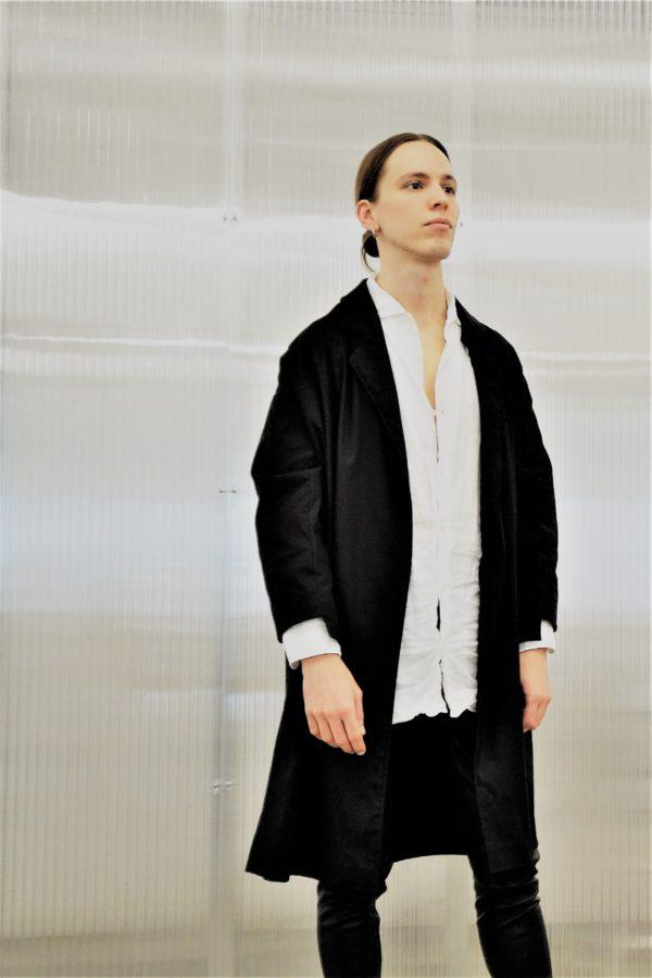 0010 Coat Pockets black- Tuur 2
