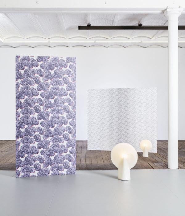 Blossom Violette Wallpaper