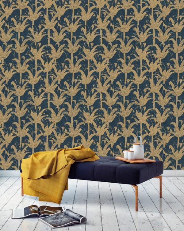 Hô Charcoal Wallpaper