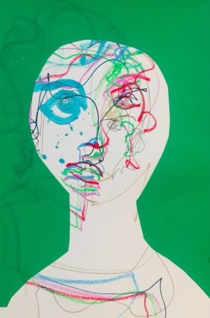 """Portrait """"Les Yeux Dans Les Yeux"""" & Sérigraphie"""