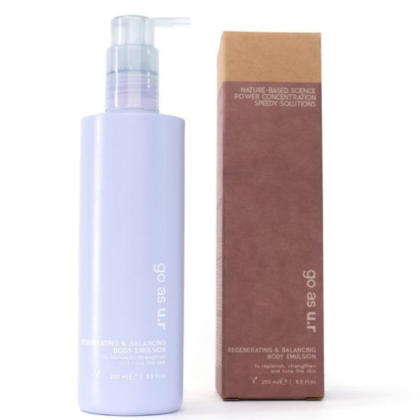 regenerating & balancing body emulsion - 250 ml