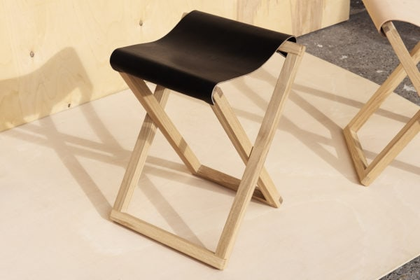 Baas Folding Chair Black