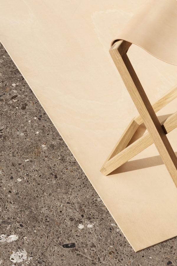 Baas Folding chair natural