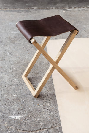 volmaakt goele maes foldingchair brown