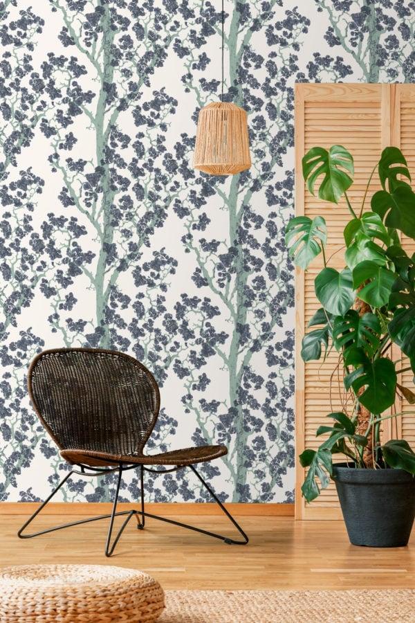 Hanami Jade Wallpaper