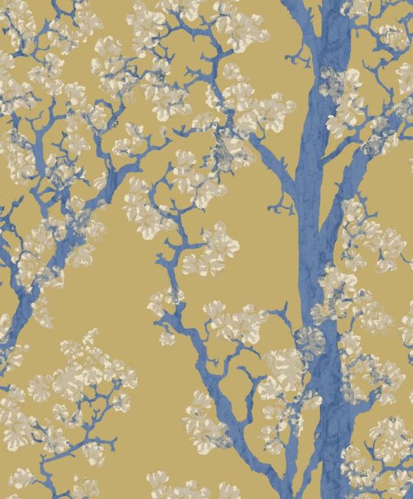 Hanami Safran Wallpaper