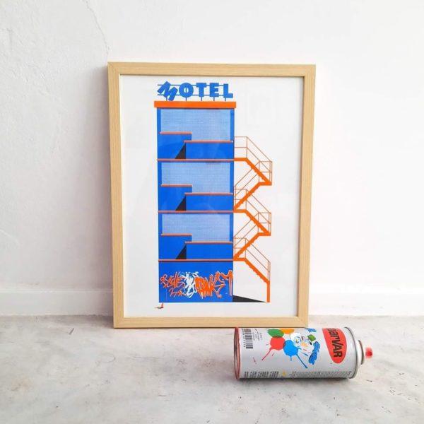 Risographie - 2 couleurs - format 29x42 cm