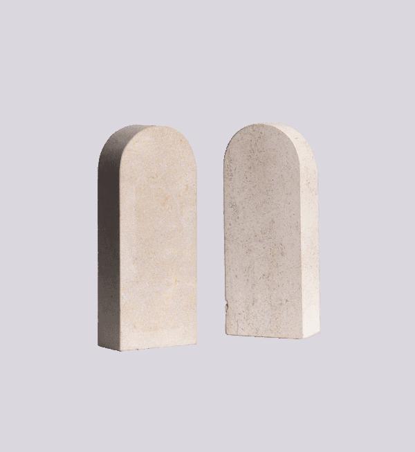 ArieBookends Sep Verboom, sandstone