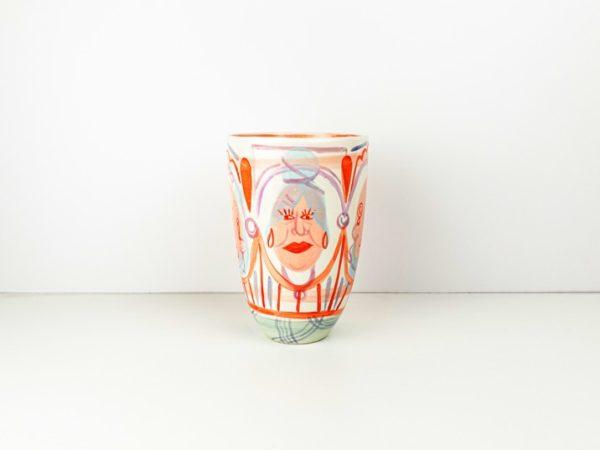 Vase painted by Eva Lynen