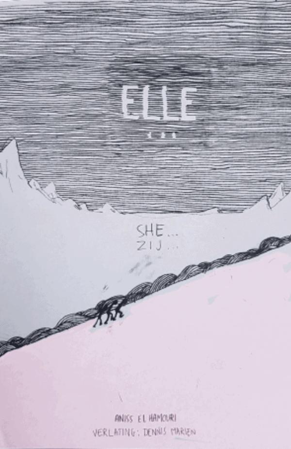 """page de couverture """"elle"""""""