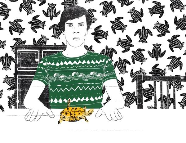 portraitC of illustrator Toon Delanote