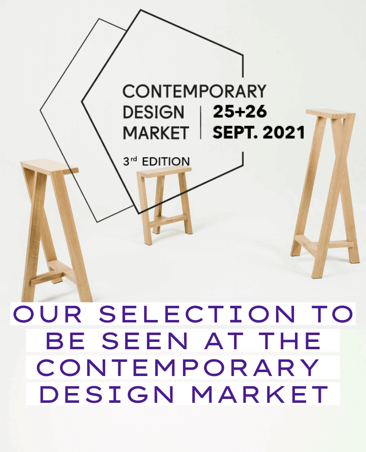 Our selection to be seen at the Contemporary Design Market