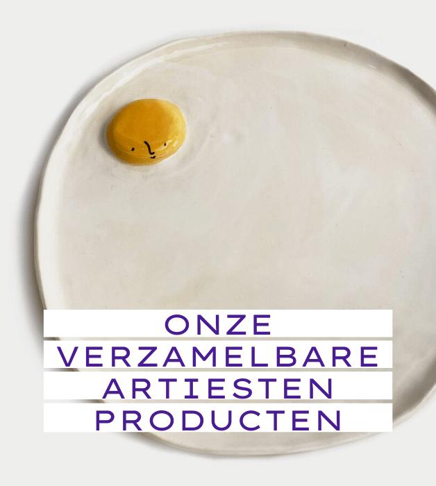 Een unieke collectie : onze verzamelbare artiesten producten.