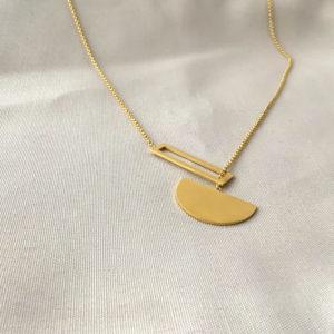 gouden halsketting